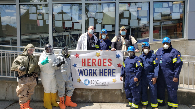 Heroes Work Here photo